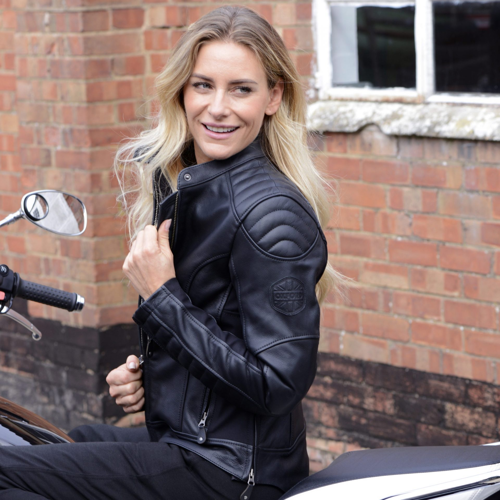 beckley-lifestyle3-scaled Women's Beckley Leather Jacket