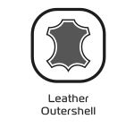 leather outershell