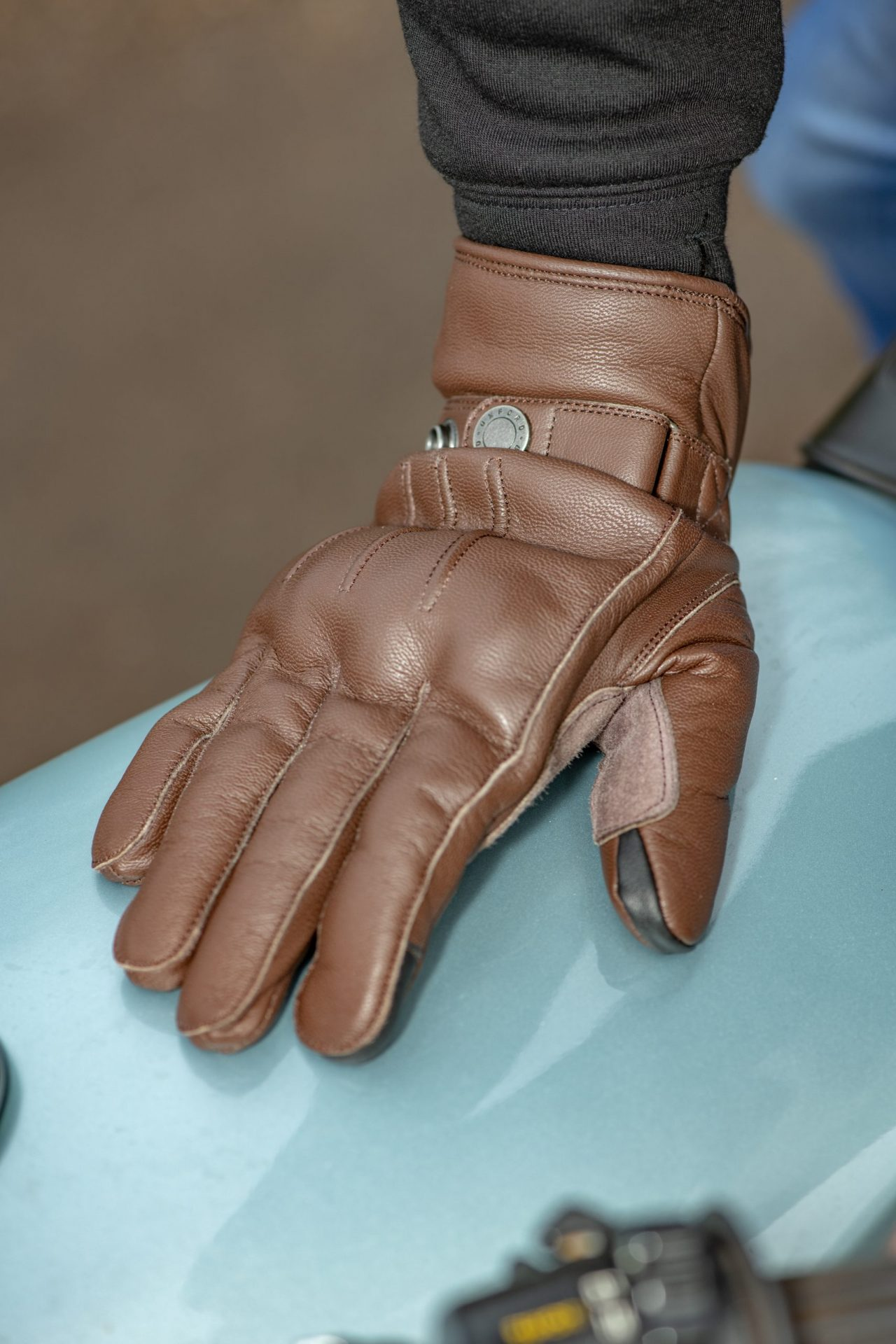 GM215102-Holton-2.0-MS-Glove-Brown-02-scaled Holton WP Dry2Dry™ Urban Gloves